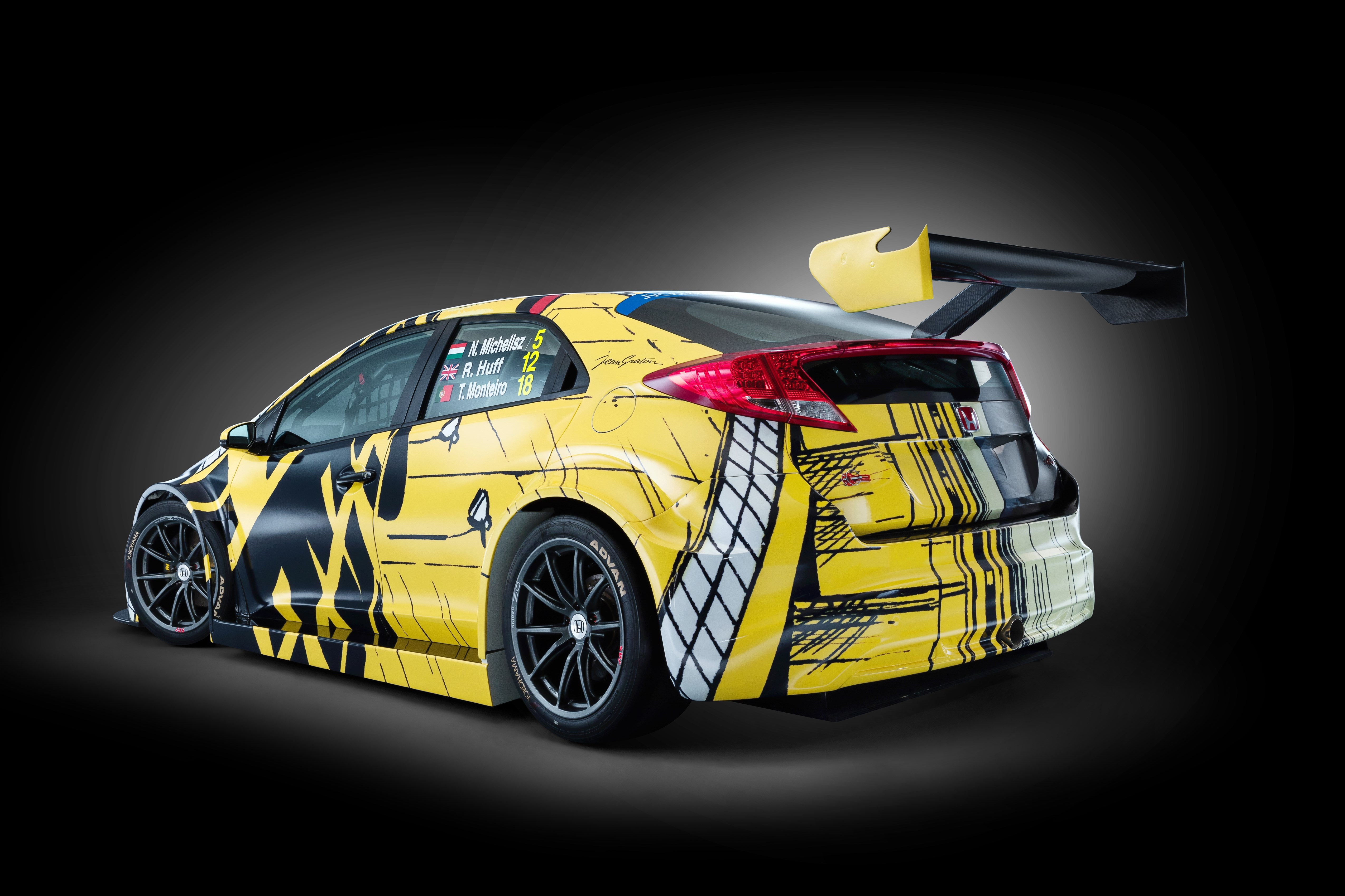 Michel Vaillant Inspired Honda Art Car To Make Race Debut