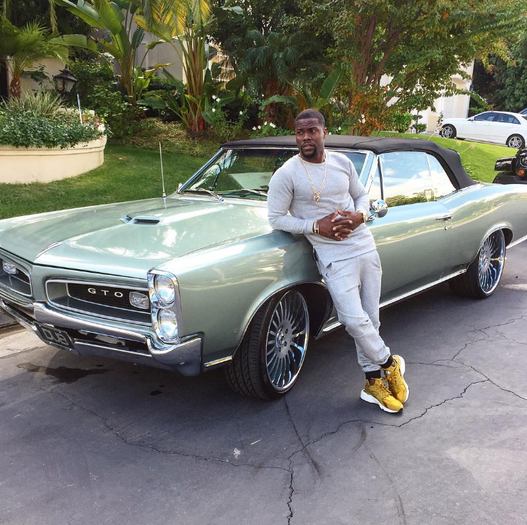 5 Coolest Cars From Kevin Hart S Instagram The News Wheel