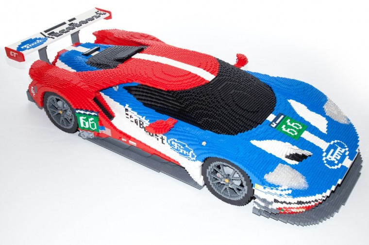 Lego Ford Gt The Ford Gt Race Car
