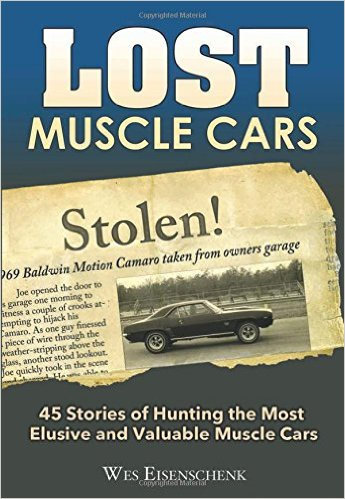 Lost Muscle Cars book cover Wes Eisenschenk