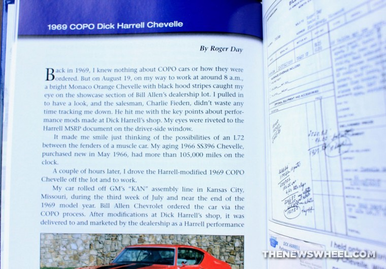Lost Muscle Cars book review CarTech Chevelle pages