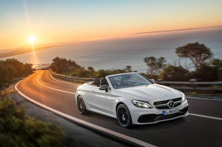 The high-performance Mercedes-C-Class AMG models have been released in Europe