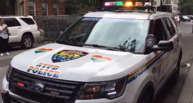 nypd gay pride patrol suv