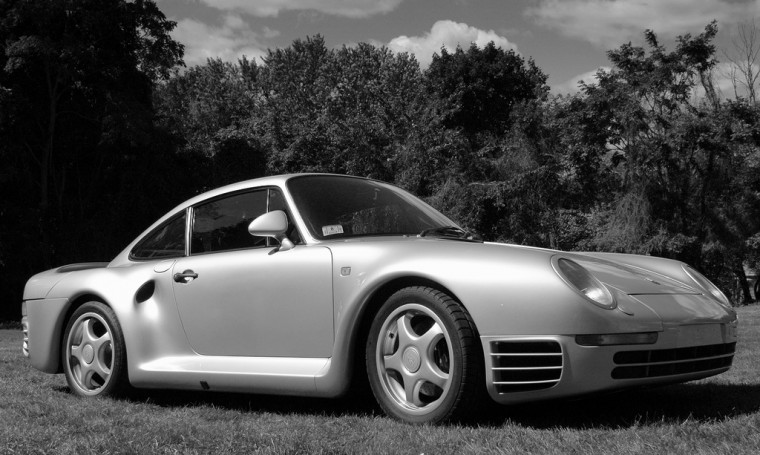 Porsche 959 jerry seinfeld celebrity cars