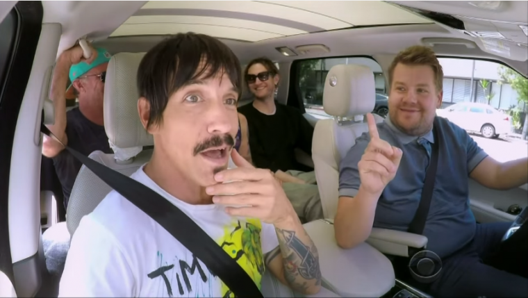 James Corden Anthony Kiedis Carpool Karaoke