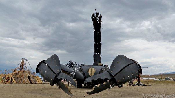 Scorpion front