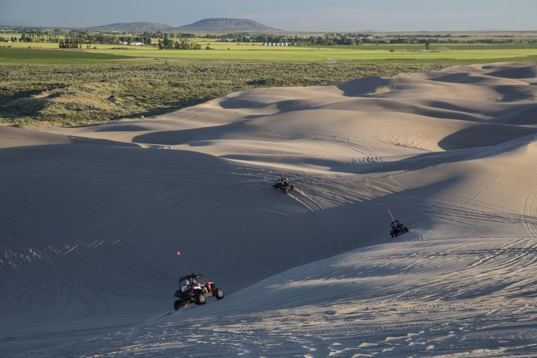 Off-roading at St. Anthony Sand Dunes