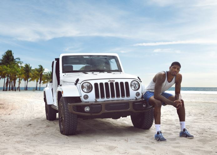 Summer of Jeep Campaign Paul George