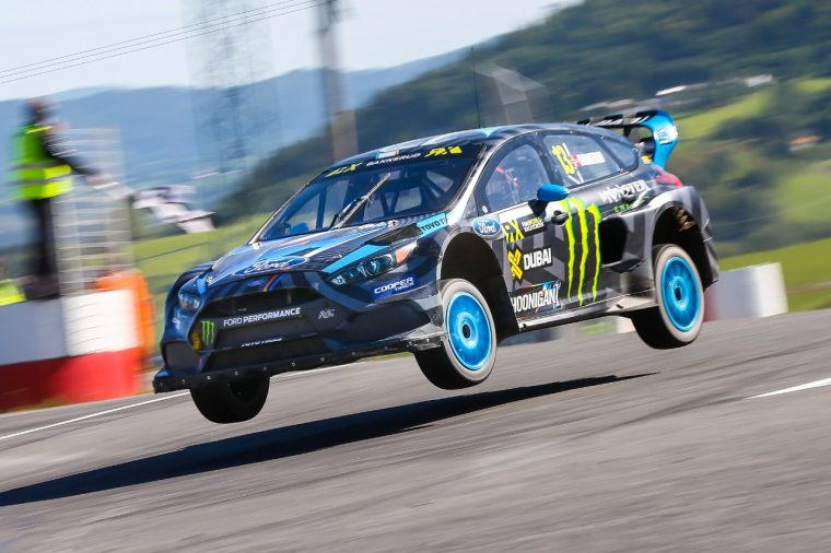 The Focus RS RX has won its first FIA World Rallycross Championship event after just five races.