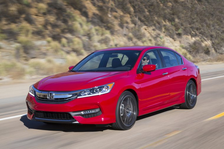 The new 2017 Honda Accord Sport Special Edition
