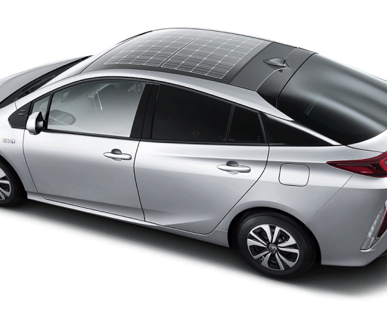 Toyota Prius Prime Will Use Solar Panels On The Roof To
