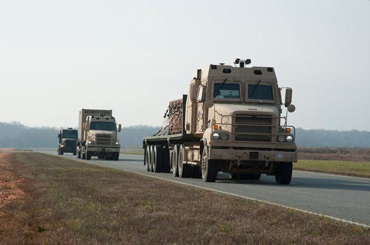 US Army Convoy Autonomous Technology Testing