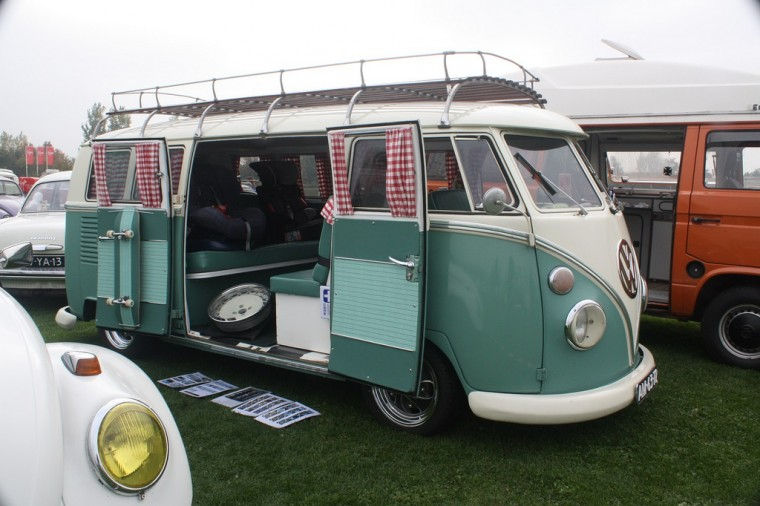 VW Bus curtains