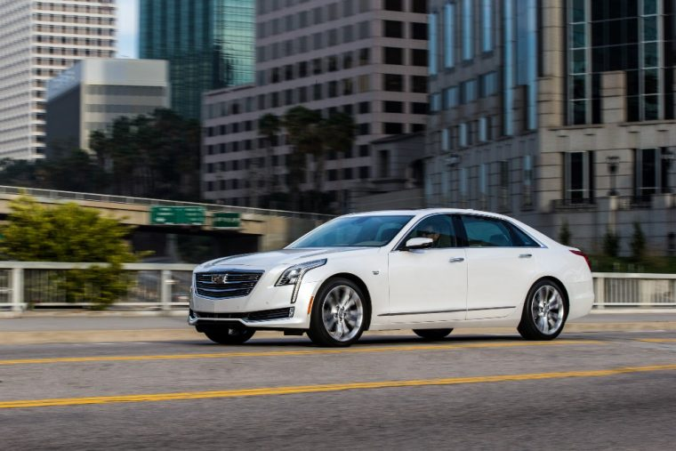 The 2016 Cadillac CT6 comes with the industry-first Surround Vision camera system