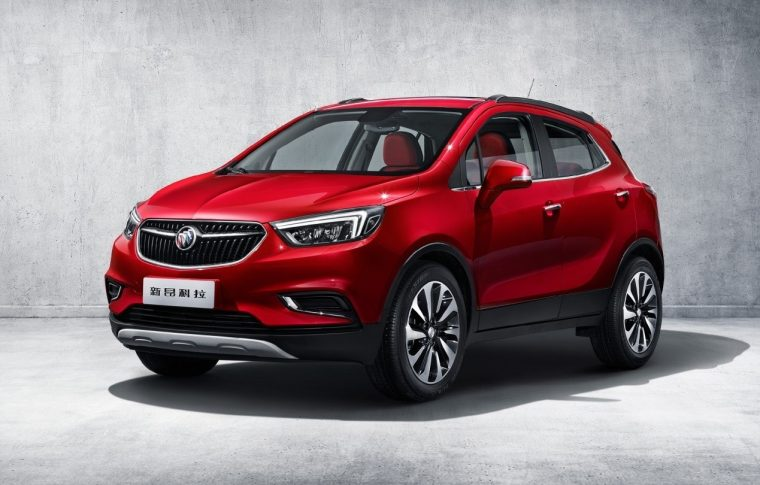 2017 Buick Encore China