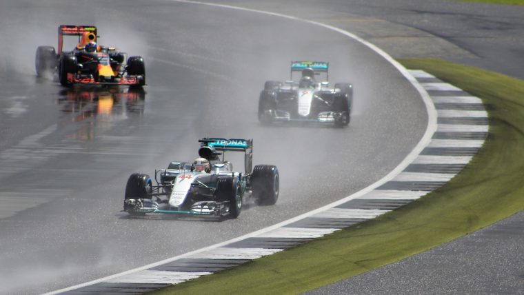 2016 British Grand Prix - Wet Weather