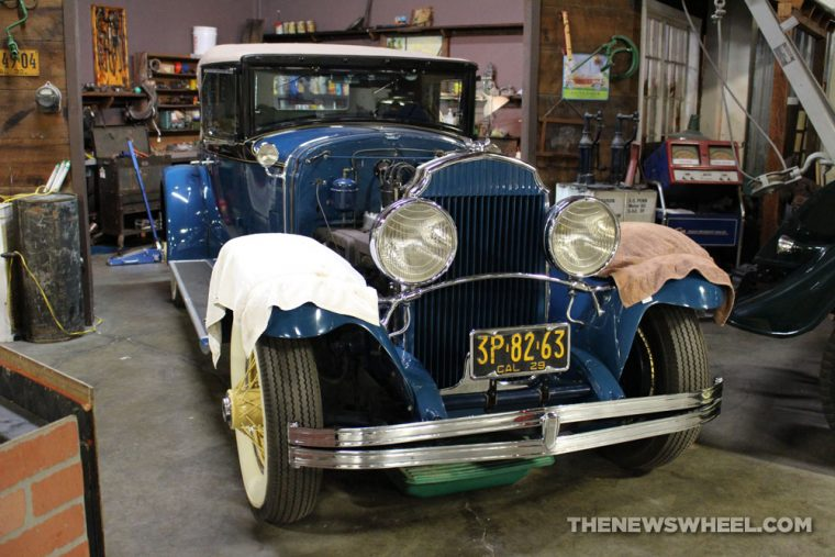 California Automobile Museum - 1929 Chrysler Imperial Model 80 Custom Locke Roadster