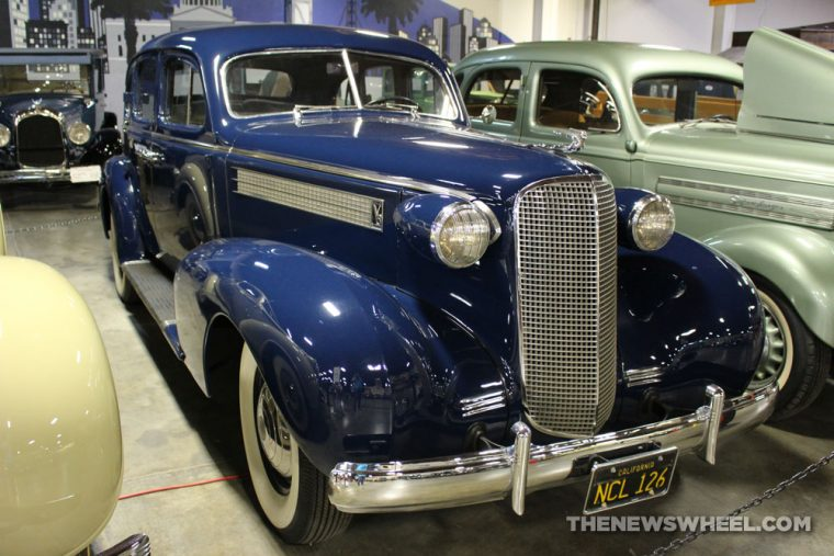 California Automobile Museum - 1937 Cadillac Series 60 Sedan