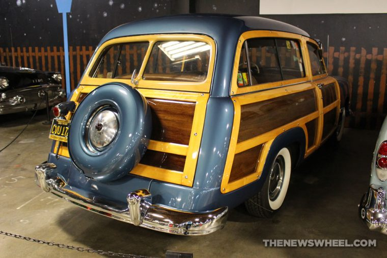 California Automobile Museum - 1950 Dodge Woodie Coronet Station Wagon