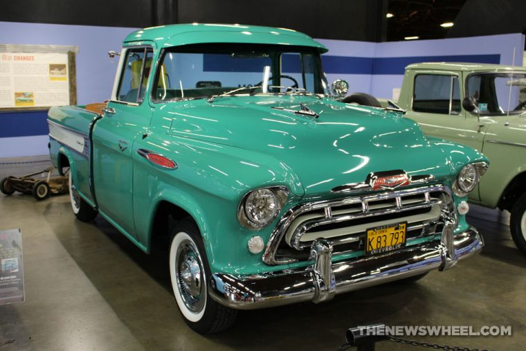 California Automobile Museum - 1957 Chevrolet Cameo Carrier