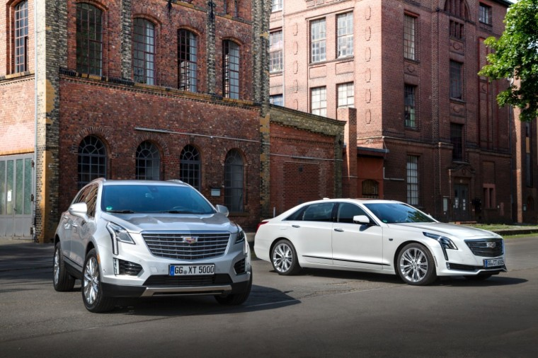 2016 Cadillac CT6 and 2017 Cadillac XT5 in Berlin