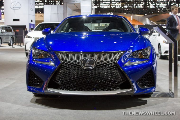 2016 lexus rc f overview the news wheel. Black Bedroom Furniture Sets. Home Design Ideas