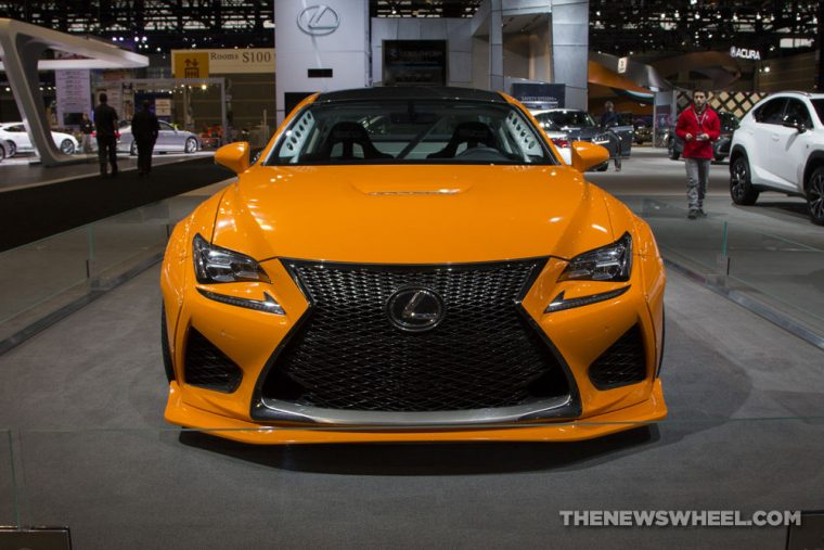 The 2016 Lexus RC F is aggressively styled, packs a powerful V8 engine, and is priced at approximately $63,000