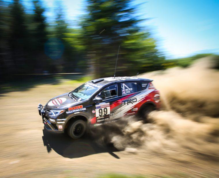 2016 Toyota Rally RAV4 at Olympus