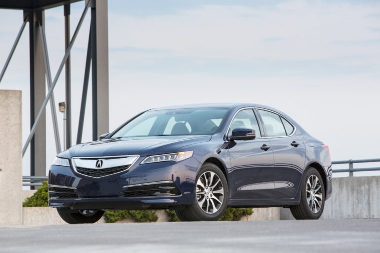 The Acura TLX features new interior and exterior color options for the 2017 model year, as well as a slightly higher MSRP