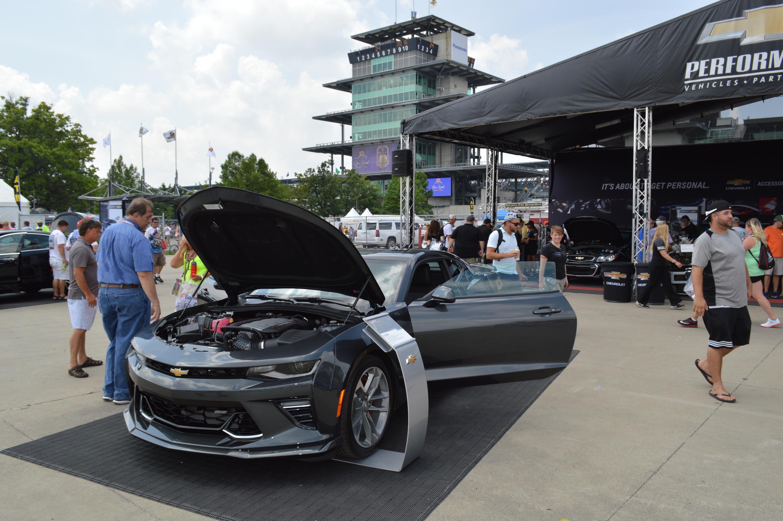 2017 Chevy Camaro 50th Anniversary Edition Visits Indy for Brickyard ...