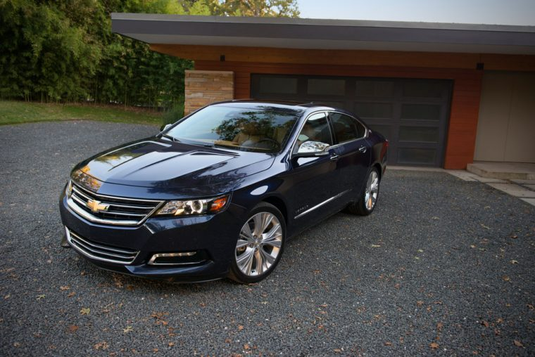 2017 chevrolet impala overview the news wheel. Black Bedroom Furniture Sets. Home Design Ideas