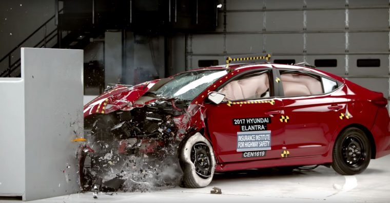 2017 Hyundai Elantra Crash Test Iihs Results