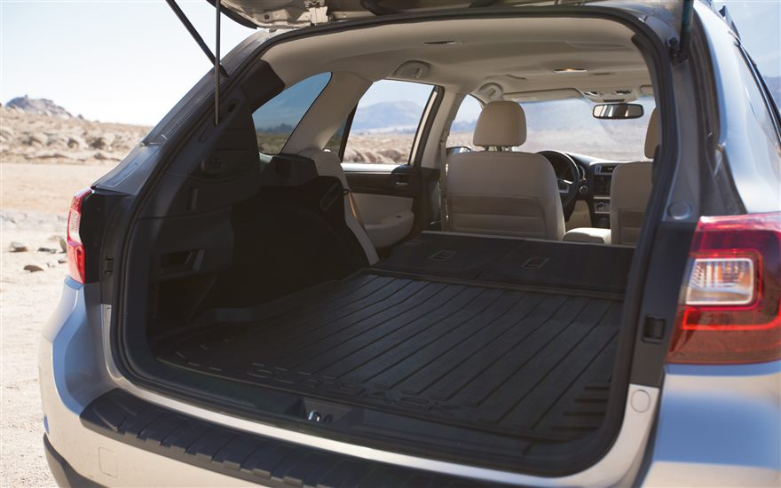 2017 subaru outback cargo space the news wheel. Black Bedroom Furniture Sets. Home Design Ideas