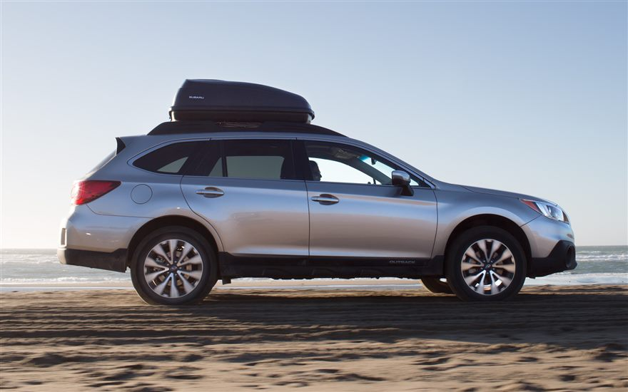 2017 Subaru Outback Silver The News Wheel