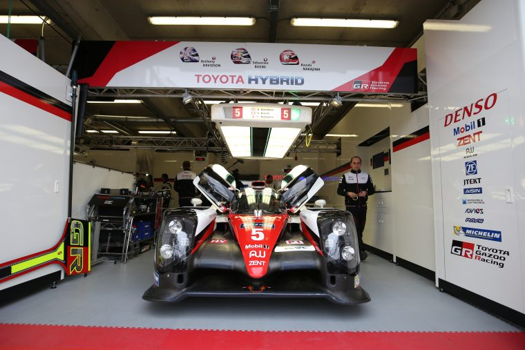 #5 Toyota Gazoo Racing at Le Mans