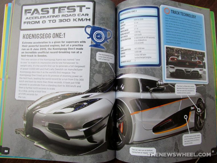 Car Record Breakers Carlton Kids book review fastest