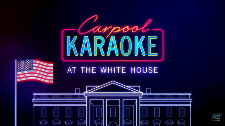Carpool Karaoke White House