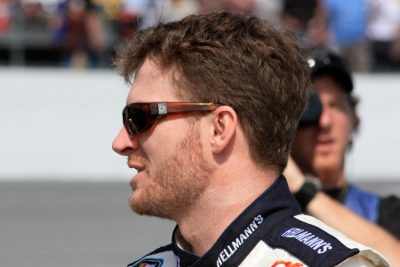 A concussion is causing Dale Earnhardt Jr. to sit out this Sunday's NASCAR race