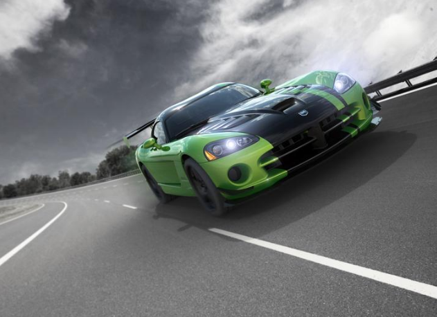 Dodge Viper Special-Edition Snakeskin ACR