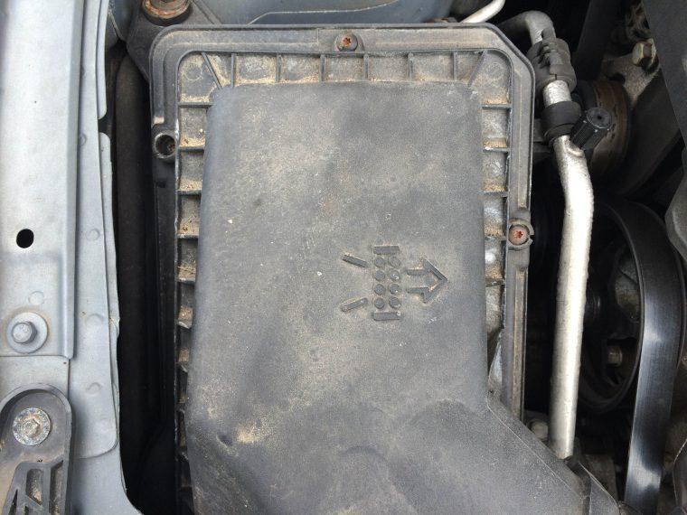 Pontiac G6 air filter cover