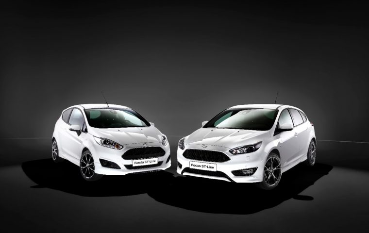 Ford Fiesta ST-Line and Focus ST-Line