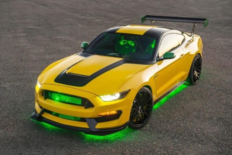 "Ford has created a new ""Old Yeller"" Shelby GT 350 Mustang that it will auction off at the upcoming Gathering of Eagles charity event"