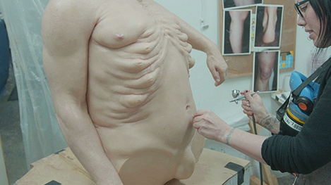 Meet Graham sculpt ribcage