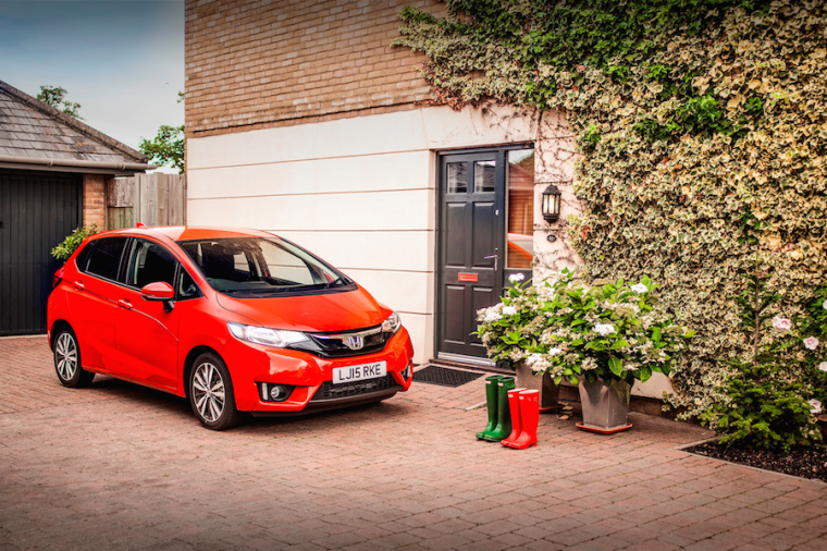 Honda Jazz vehicle which won big at 2016 Telegraph Cars Award
