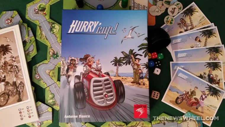 Hurry Cup racing board game Hurrican review