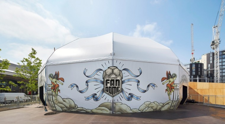 Hyundai FanDome Euro 2016 viewing tent
