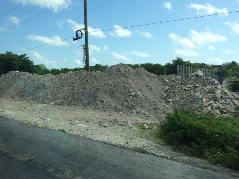 Mexico dirt pile