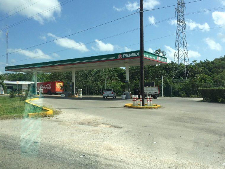Pemex gas station