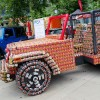 Jeep Wrangler Finished Canstruction