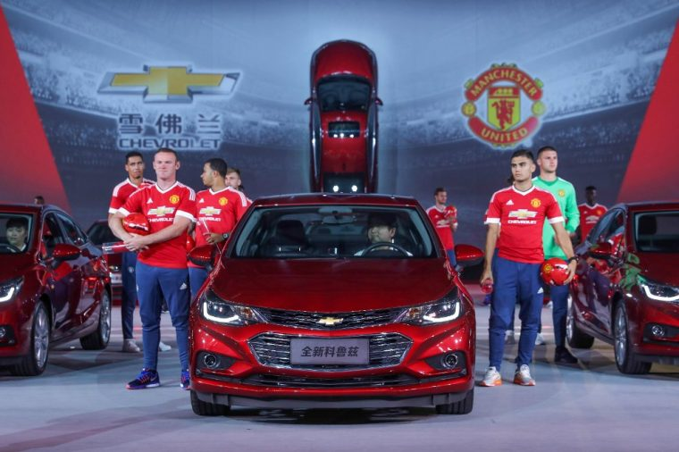 The new Chevrolet Cruze sedan has officially made its debut is the world's biggest auto market of China